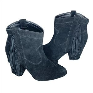 NEW Jessica Simpson Wyoming Fringe Ankle Boot
